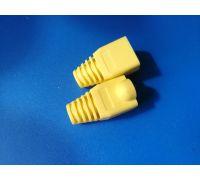 Колпачки для коннекторов RJ45 (Желтый) 100 штук