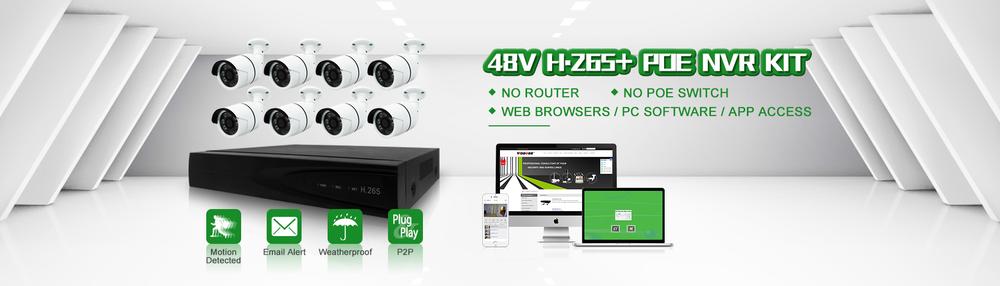 Комплекты для IP видеонаблюдения