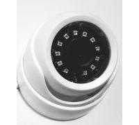 Купольная IP-видеокамера 3 мп с матрицей Sony Объектив 8 мм