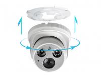 Купольная IP-видеокамера 3 мп NEW Объектив 2.8 мм