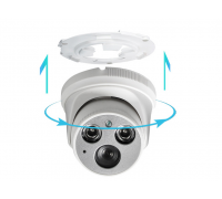 Купольная IP-видеокамера 3 мп NEW Объектив 3.6 мм.